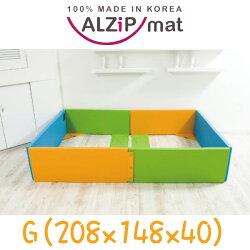 韓國ALZIPMAT-無毒/安全/遊戲地墊--遊戲城堡 G (148*208*40)