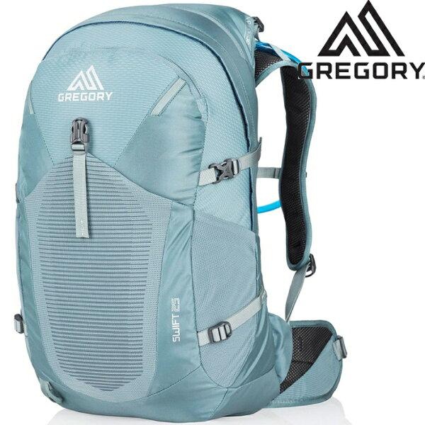 GregorySwift25登山背包郊山小背包透氣背網包女款25升924896396杜松藍台北山水
