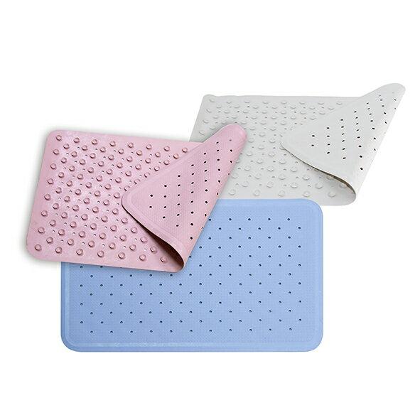 奶油獅橡膠吸盤式止滑墊浴室防滑墊止滑墊35×56cm(BL93301)