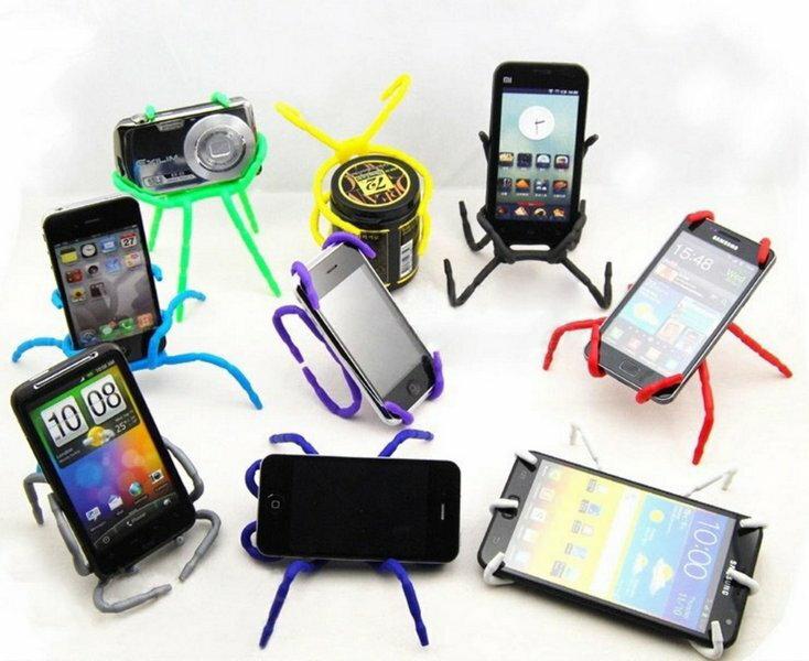 【意生】X-FREE百變蜘蛛手機架 百變萬能手機固定架 神奇萬能蜘蛛手機架書架 手機平板 iPhone7 plus安卓