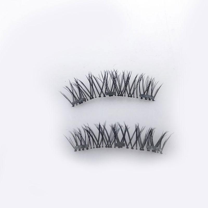 【現貨】網紅量子磁鐵睫毛磁力假睫毛軟磁假睫毛磁性睫毛夾99購物節