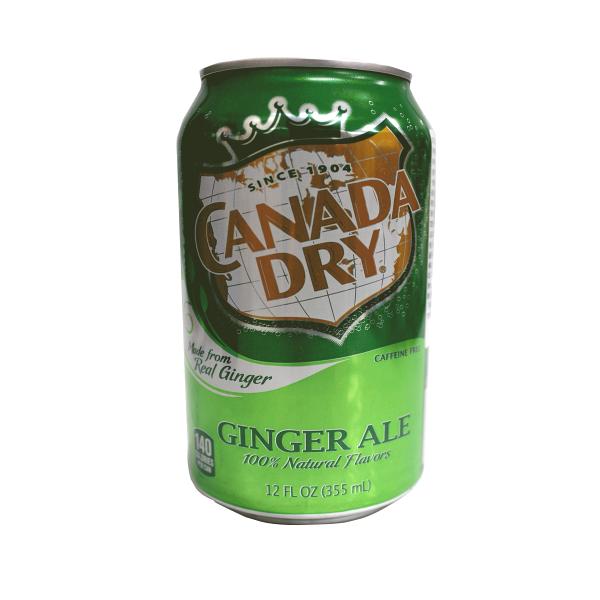 美國CanadaDry薑汁汽水