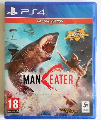 美琪PS4遊戲 食人鯊 深海狂鯊 大白鯊 Maneater SHARK  英文中文
