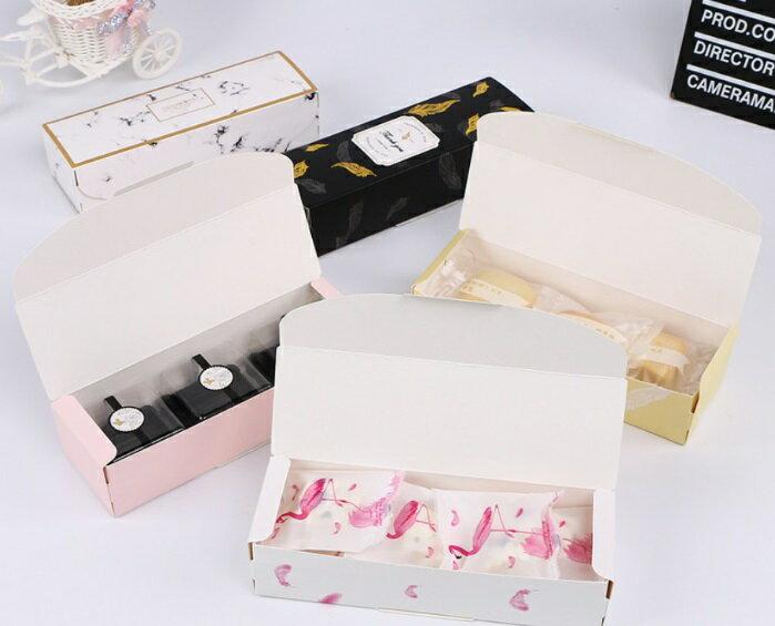 【嚴選SHOP】長條翻蓋彩色燙金盒 牛軋糖 包裝盒 餅乾禮盒 鳳梨酥 手工皂 包裝盒 月餅禮盒月餅盒 禮物盒【C141】