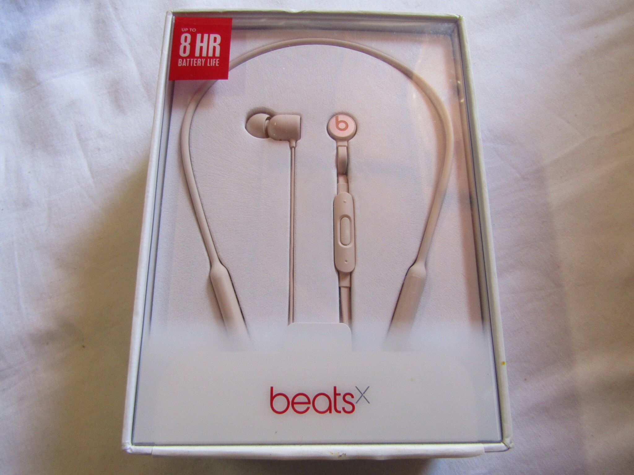 ee7885161ac Beatsx by Dre Beats X In-Ear Wireless Headphones - Matte Gold (MR3L2LL/
