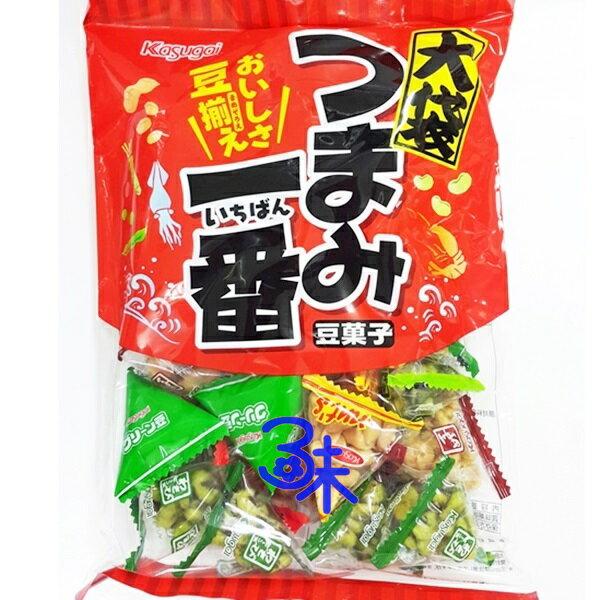 (日本) Kasugai 春日井 大袋一番 綜合豆果子 ( 綜合迷你豆菓子 綜合豆菓子) 1包 330 公克 特價 228 元 【4901326012677】
