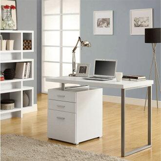 摩登電腦書桌 ( 白色 ) / 書桌 / 電腦桌 / 辦公桌 & DIY組合傢俱