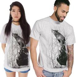 【摩達客】美國進口The Mountain 咆哮狼 純棉環保短袖T恤