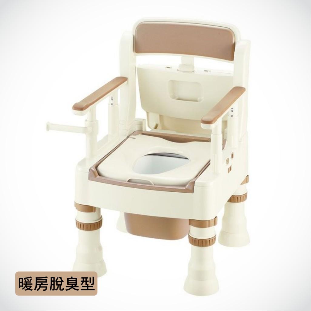 來而康 杏豐 Richell R086 可攜式舒適便座MH-D型 暖房脫臭