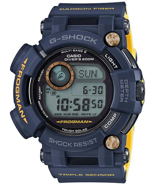 CASIO G-SHOCK GWF-D1000NV-2  MASTER IN NAVY BLUE電波多功能海洋蛙人腕錶/53.3mm