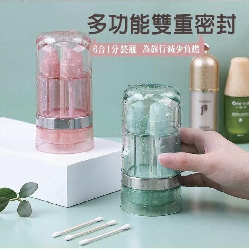 旅行必備分裝瓶分裝噴瓶按壓空瓶便攜旅行細霧乳液按壓小噴瓶 0