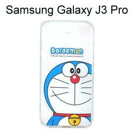 哆啦A夢空壓氣墊軟殼[大臉]SamsungGalaxyJ3Pro(5吋)小叮噹【正版授權】