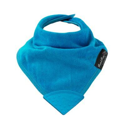 紐西蘭Mum2Mum 機能型神奇三角口水巾咬咬兜(藍)