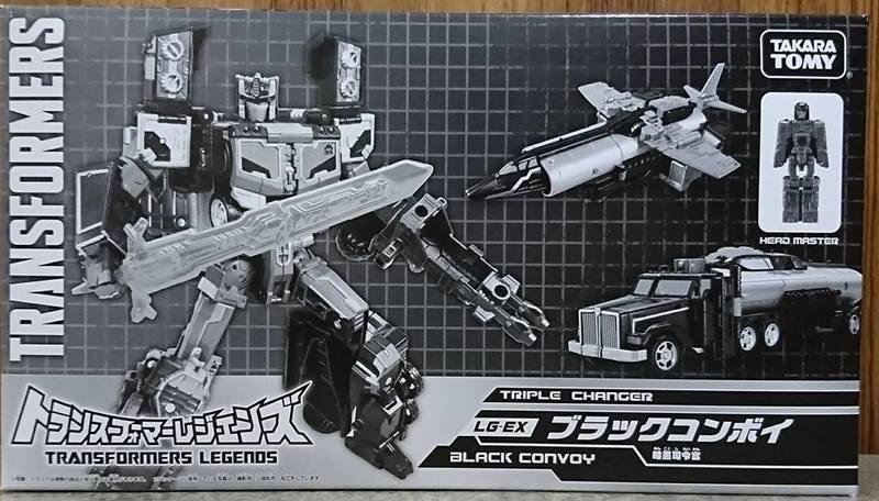 ☆勳寶玩具舖【現貨】變形金剛 日版 LG系列 東京限定  LG EX 黑暗柯博文  Black Convoy Optimus Prime