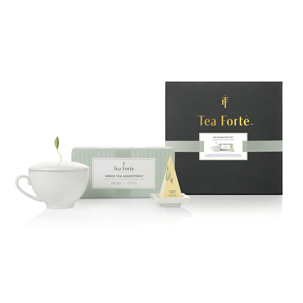 Tea Forte 單人獨享 茶品茶具禮盒 Rejuvenation Gift Set 0