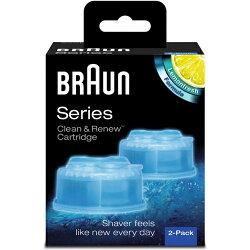 德國百靈 Braun CCR2 匣式清潔液 (2入組)  電動刮鬍刀適用