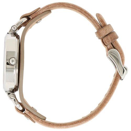 Fossil Women's ES2830 Beige Leather Analog Quartz Watch with Beige Dial 3