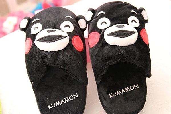 =優生活=《 熱賣商品 》日本限定卡通室內拖鞋 熊本縣 ???? kumamo 保暖拖鞋 熊熊毛拖