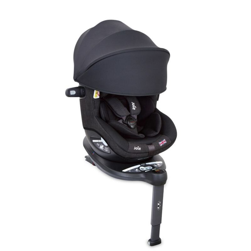 JOIE i-spin360 0-4歲汽座/安全座椅頂篷款-黑色JBD06300D★愛兒麗婦幼用品★