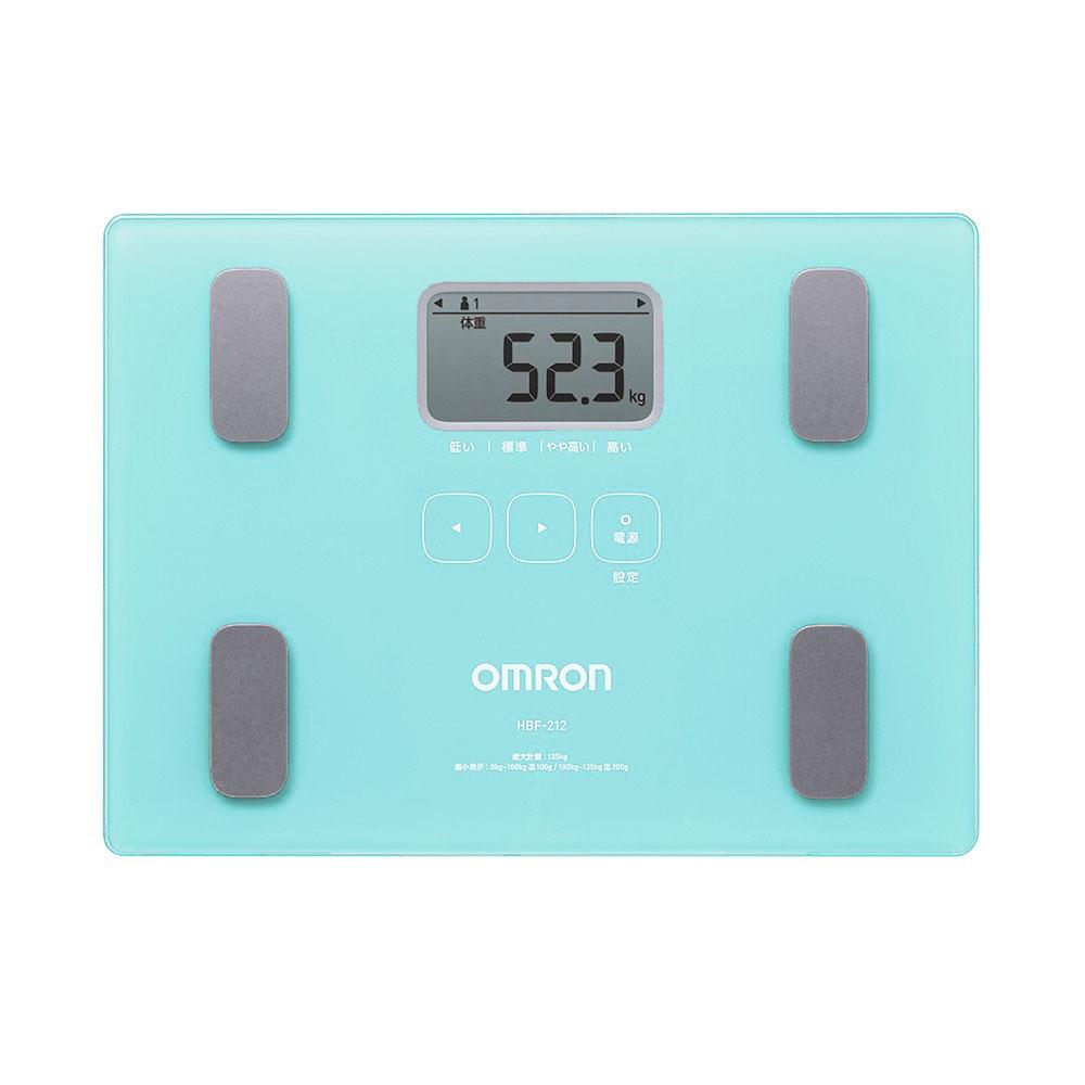OMRON 歐姆龍 體重體脂計 HBF-212 藍色 專品藥局【2005022】