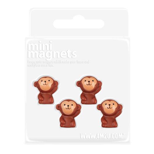 ~4M  DIY~Mini Magnets  Monkey 迷你 磁鐵~小猴子款