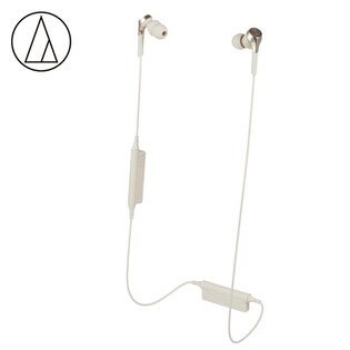 【audio-technica鐵三角】ATH-CKS550XBT無線耳塞式耳機金檳色【三井3C】