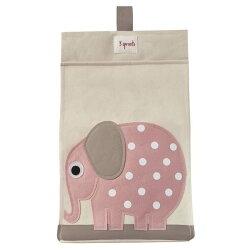 【原廠公司貨】加拿大3 Sprouts 尿布收納袋~大象