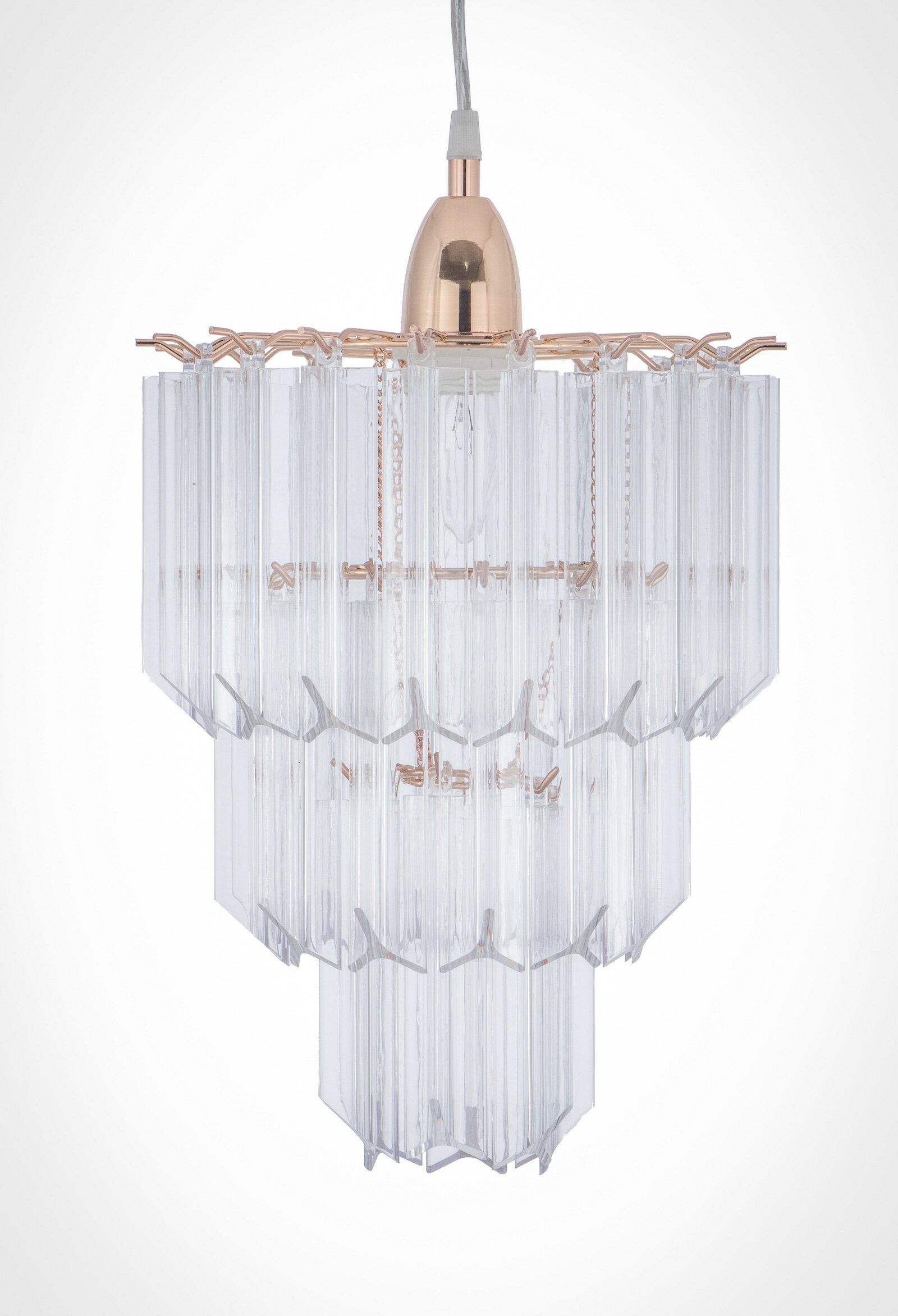 法國金透明壓克立吊燈-BNL00067 4
