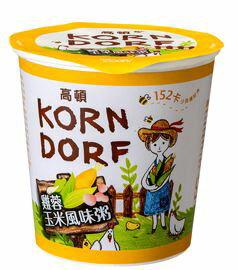 高頓雞蓉玉米風味粥x12杯箱【合迷雅好物商城】