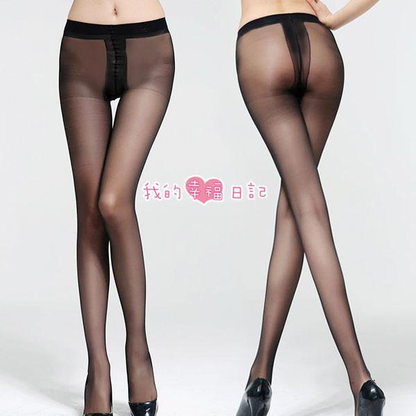 酷愛熱潮‧包芯絲T檔絲襪(黑) 性感絲襪 情趣用品