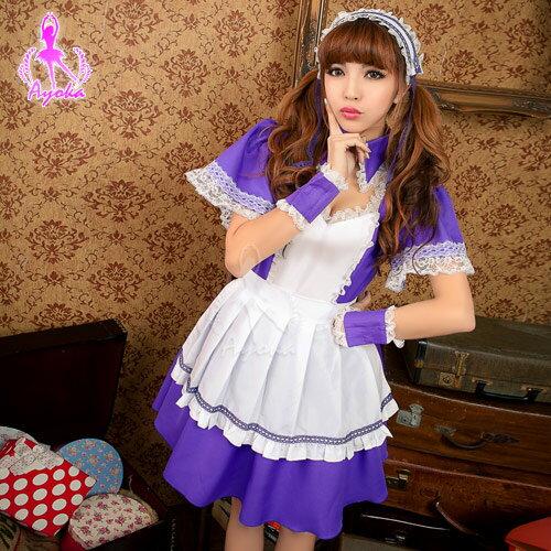 蘿莉女僕!六件式角色扮演服 角色扮演 cosplay 情趣用品