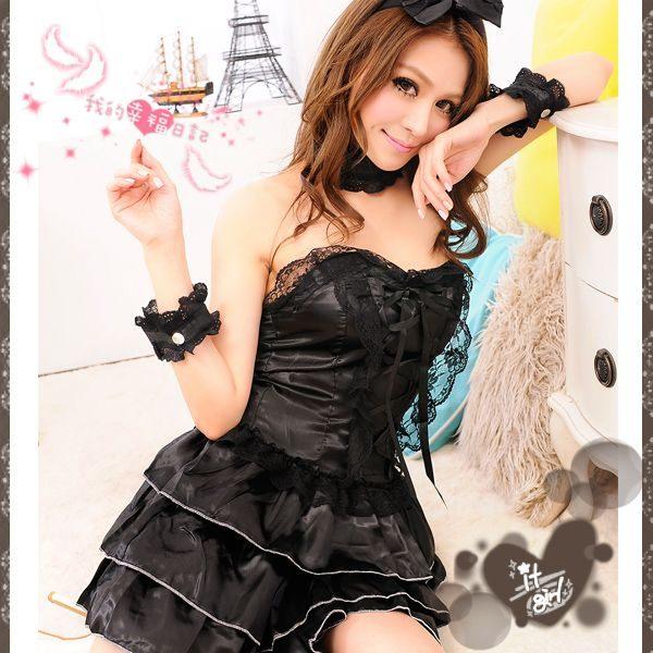 芭蕾美計‧小禮服舞裙角色服(黑) 角色扮演 cosplay 情趣用品