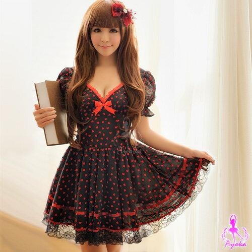 愛心公主!二件式公主角色扮演服 角色扮演 cosplay 情趣用品