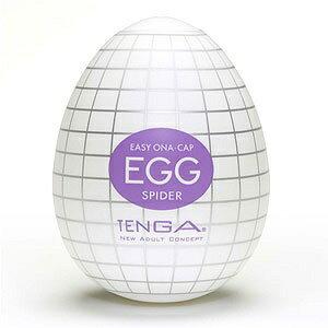 日本原裝進口TENGA-自慰蛋3號 SPIDER(蜘蛛網型構造) 非貫通自慰器 情趣用品