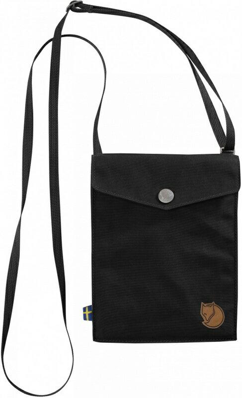 Fjallraven 小狐狸 旅行隨身袋/護照包/口袋包 24221 Pocket 550黑