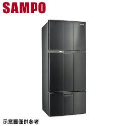 【SAMPO 聲寶】580公升定頻三門冰箱SR-A58GV(S3)【三井3C】