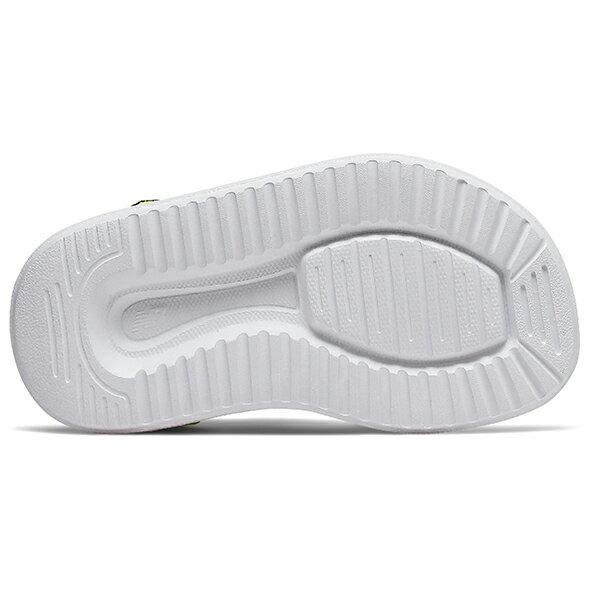 Shoestw【IH750BL】NEW BALANCE NB750 涼鞋 涼拖鞋 運動涼鞋 童鞋 小童鞋 黏帶 螢光黃黑 3