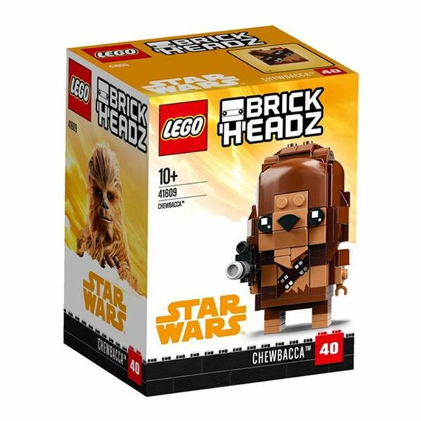 【LEGO樂高積木】Brickheadz積木人偶系列-Chewbacca-LT-41609