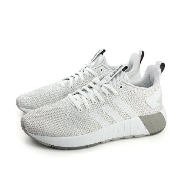 HUMAN PEACE:adidasQUESTARBYD運動鞋透氣男鞋白色DB1539no505