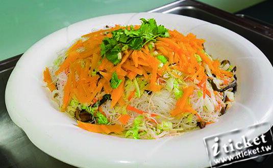 【愛票網】台中華進素食婚宴會館-歐式自助百匯假日餐券