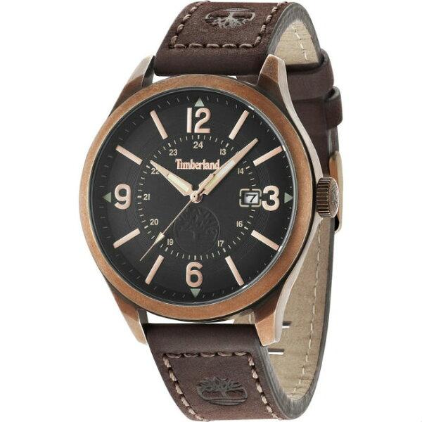 Timberland天柏嵐TBL.14645JSQR02美式潮流時尚腕錶黑面45mm