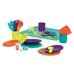 ☆愛兒麗☆美國【B.Toys】圍一圈晚餐派對BT2584Z