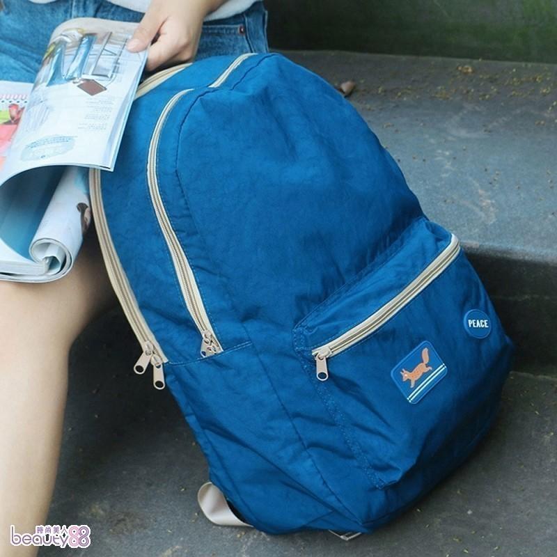 《JMALL》韓版卡通超大容量多功能防潑水防震休閒後背包