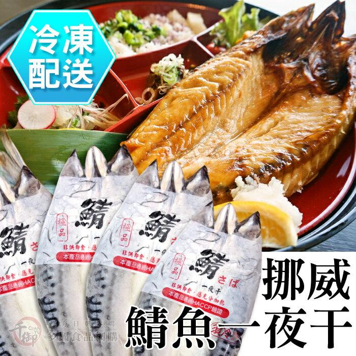 挪威鯖魚一夜干(330g) 燒烤必備 冷凍配送[CO00428]千御國際