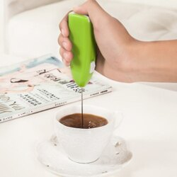 奶泡器 打蛋器 攪拌器 打奶油 電動 奶泡機 手持式 廚房 家用 迷你 不銹鋼 咖啡 奶茶 DIY 烘焙 電動手持奶泡器 ♚MY COLOR♚【P601】