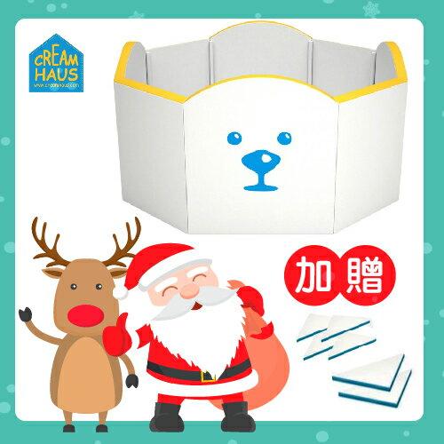 【送市價3960大小三角專用配件組】韓國【CreamHaus】冰雪高牆城堡-2色 1