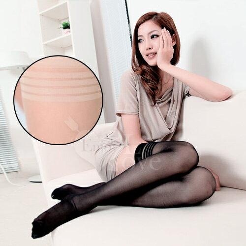 絲網襪fashion超彈性透明性感長筒絲襪﹝膚色款﹞享樂網情趣用品