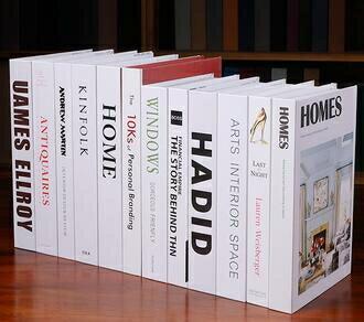 假書 現代仿真書假書道具書裝飾書家居創意小擺設客廳樣板房裝飾品擺件