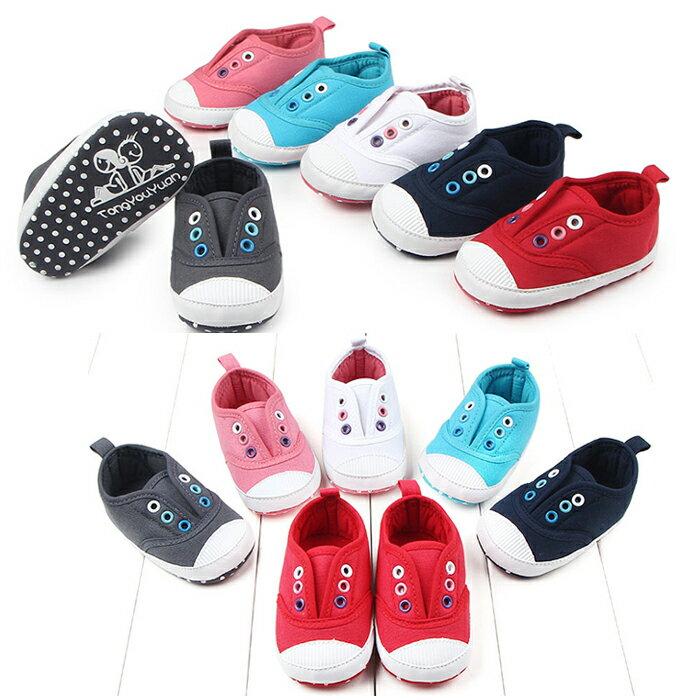 純色百搭寶寶鞋 學步鞋 軟底防滑嬰兒鞋( 11-13 cm)  MIY0707 3