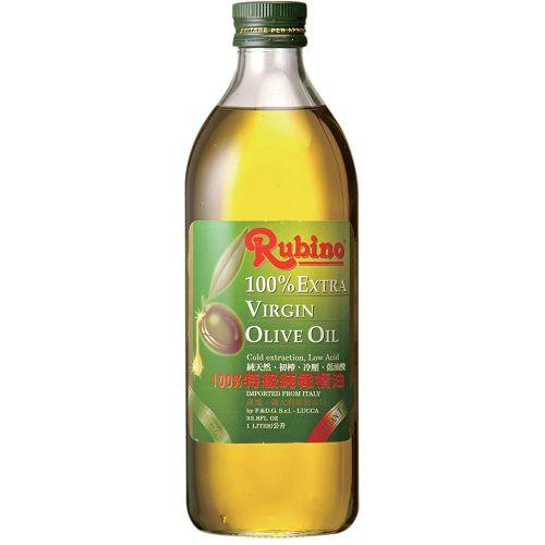魯賓Rubino100%冷壓特級橄欖油1000ml【愛買】 - 限時優惠好康折扣